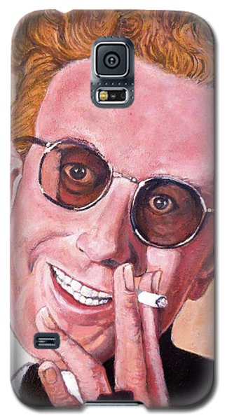 Galaxy S5 Case featuring the painting Dr Strangelove  by Tom Roderick