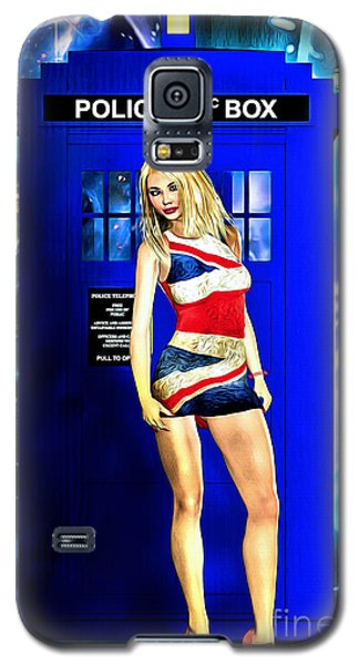 Doctor Who - Tardis And Rose Tyler Galaxy S5 Case
