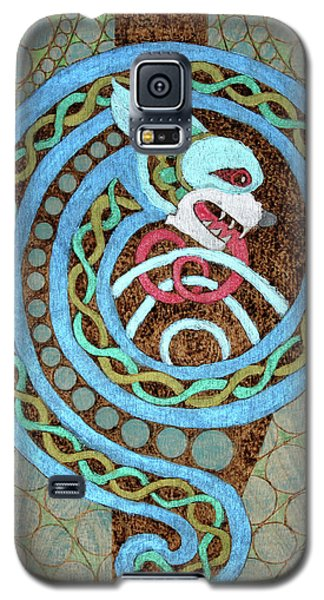 Dragon And The Circles Galaxy S5 Case