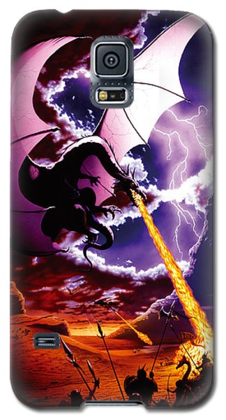 Dragon Attack Galaxy S5 Case by The Dragon Chronicles - Steve Re