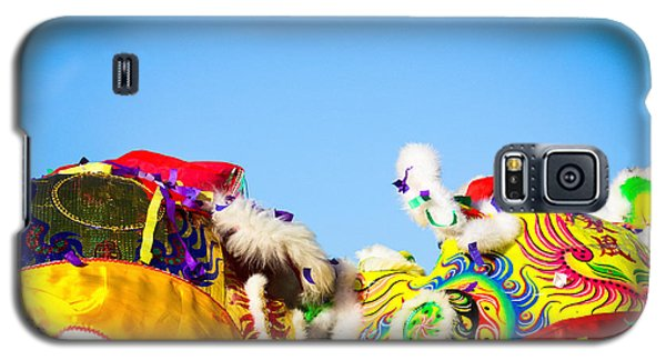 Galaxy S5 Case featuring the photograph Dragon Dance by Bobby Villapando
