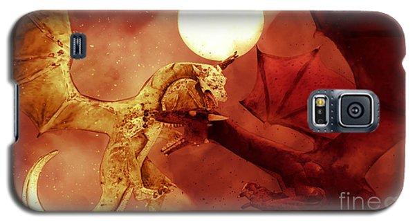 Dragon Fight Galaxy S5 Case