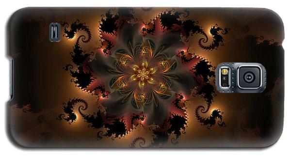 Dragon Flower Galaxy S5 Case by GJ Blackman
