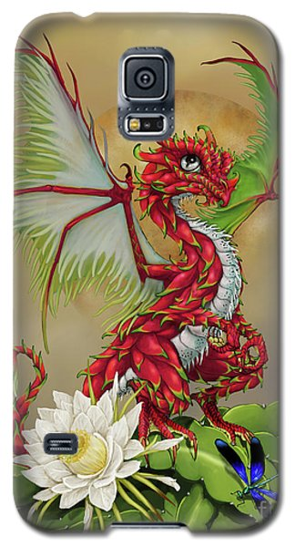 Galaxy S5 Case featuring the digital art Dragon Fruit Dragon by Stanley Morrison