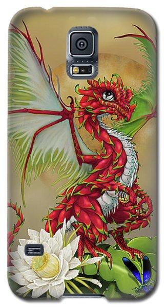 Dragon Fruit Dragon Galaxy S5 Case by Stanley Morrison