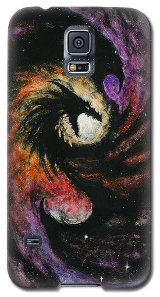 Dragon Galaxy Galaxy S5 Case by Stanley Morrison
