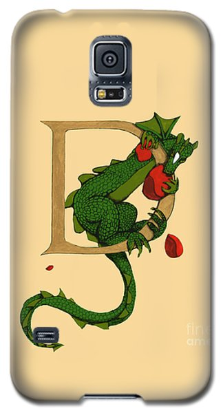 Dragon Letter D 2016 Galaxy S5 Case by Donna Huntriss