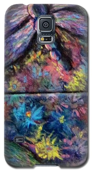 Galaxy S5 Case featuring the painting Dragon Line by Megan Walsh