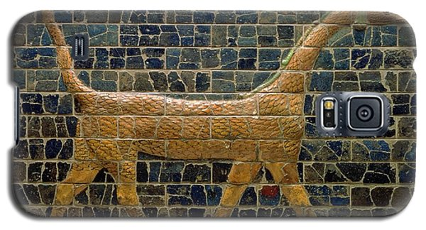 Dragon Of Marduk - On The Ishtar Gate Galaxy S5 Case by Anonymous