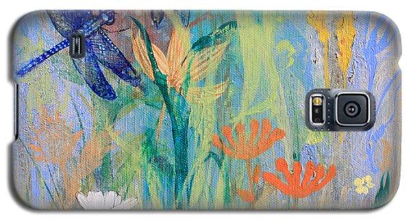 Dragonflies In Wild Garden Galaxy S5 Case
