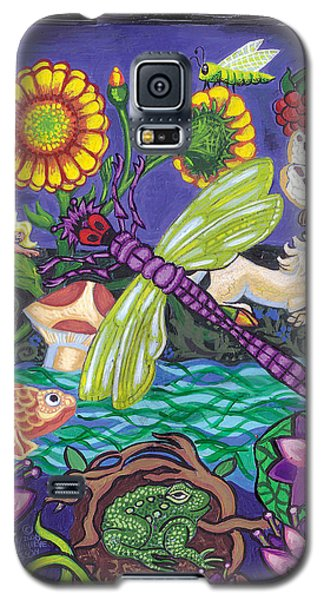 Dragonfly And Unicorn Galaxy S5 Case