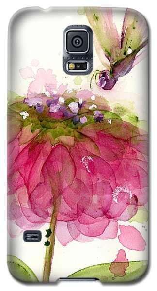 Dragonfly And Zinnia Galaxy S5 Case