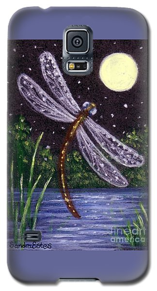 Dragonfly Dreaming Galaxy S5 Case by Sandra Estes