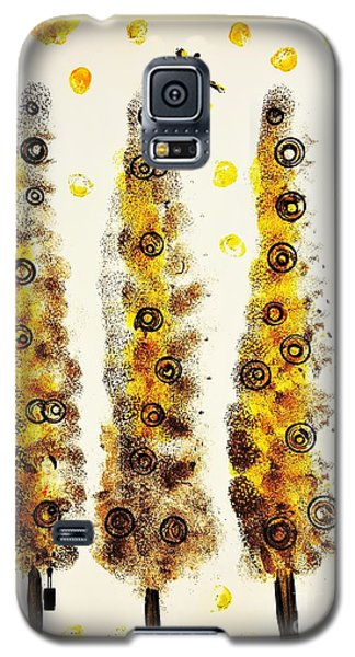 Dragonfly Flying Through The Yellow  Forest By Jasna Gopic Galaxy S5 Case