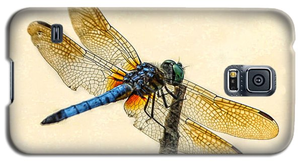 Galaxy S5 Case featuring the photograph Dragonfly by Jim Moore