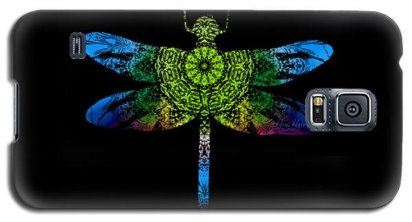 Dragonfly Kaleidoscope Galaxy S5 Case
