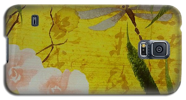 Dragonfly N Roses Galaxy S5 Case