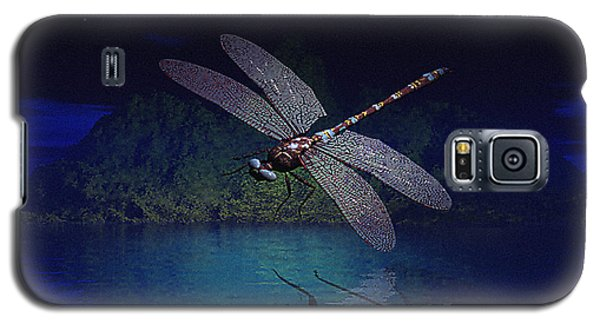 Dragonfly Night Reflections Galaxy S5 Case