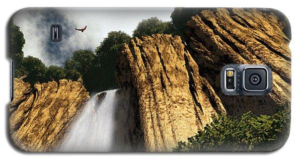 Dragons Den Canyon Galaxy S5 Case by Richard Rizzo