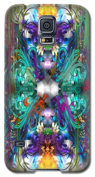 Dragons Of The Temple Galaxy S5 Case