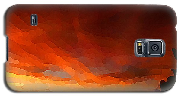 Drama At Sunrise Galaxy S5 Case