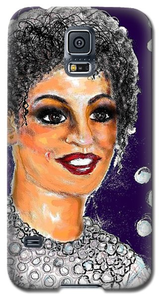 Galaxy S5 Case featuring the digital art Dramatic Flare by Desline Vitto