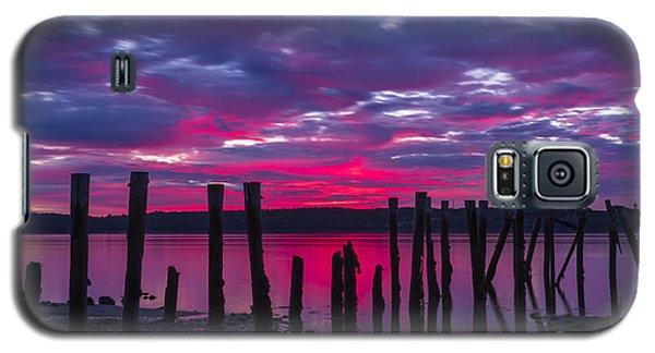 Dramatic Maine Sunrise Galaxy S5 Case