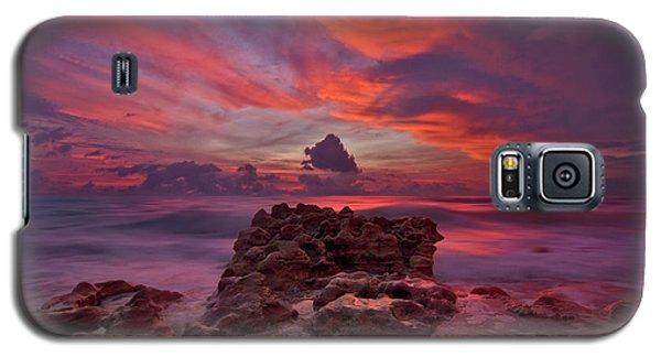 Dramatic Sunrise Over Coral Cove Beach In Jupiter Florida Galaxy S5 Case