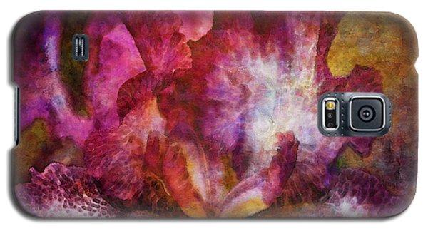 Dramatic White And Purple 0273 Idp_2 Galaxy S5 Case