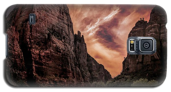 Dramatic Zion National Park Utah  Galaxy S5 Case