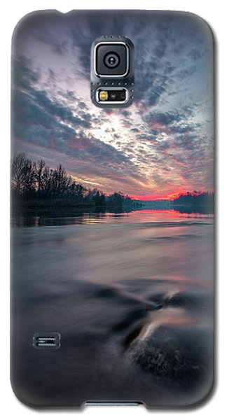 Galaxy S5 Case featuring the photograph Drava by Davorin Mance