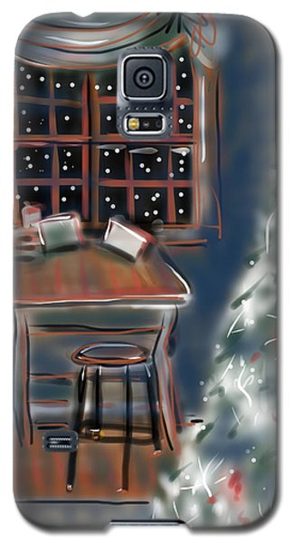 Drawing Board At Christmas Galaxy S5 Case by Jean Pacheco Ravinski