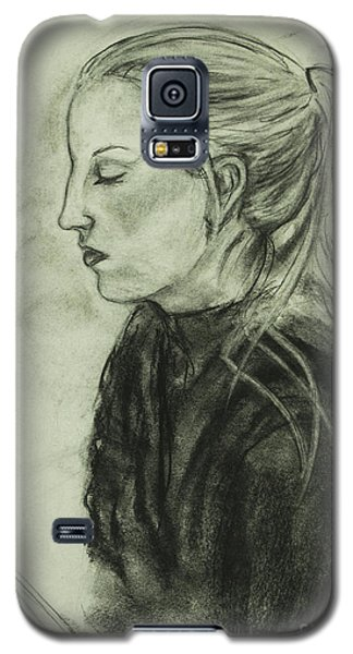 Drawing Of An Artist Galaxy S5 Case