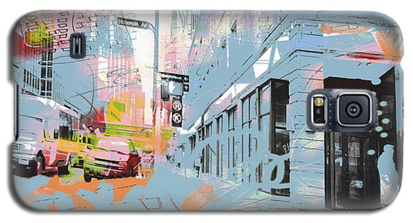 Drawing On Hennepin Ave.  Galaxy S5 Case