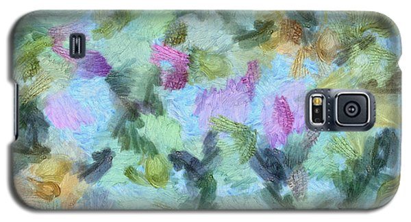Galaxy S5 Case featuring the mixed media Dream Bigger by Trish Tritz
