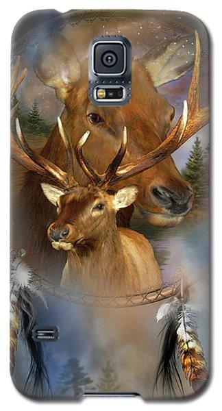 Dream Catcher - Spirit Of The Elk Galaxy S5 Case