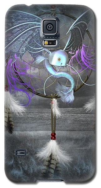 Dream Catcher Dragon Fish Galaxy S5 Case