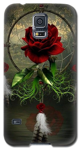 Dream Catcher Rose Galaxy S5 Case