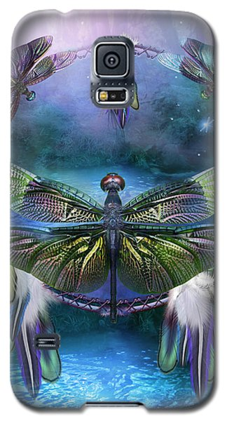 Dream Catcher - Spirit Of The Dragonfly Galaxy S5 Case