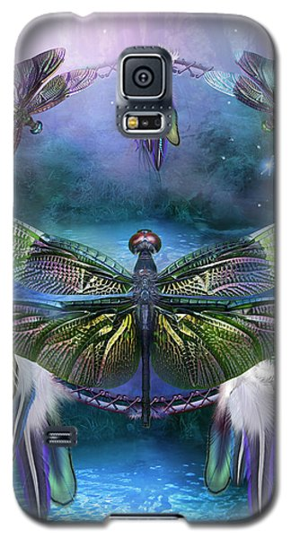 Dream Catcher - Spirit Of The Dragonfly Galaxy S5 Case