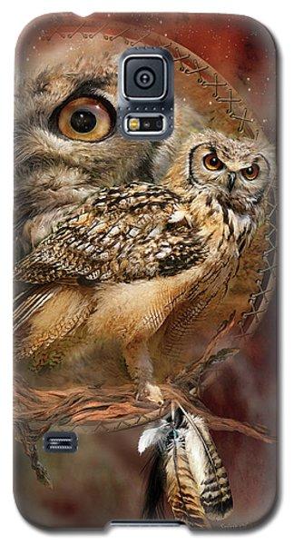 Dream Catcher - Spirit Of The Owl Galaxy S5 Case