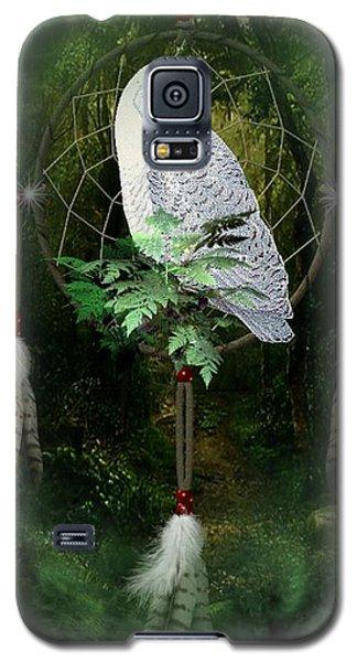 Dream Catcher White Owl Galaxy S5 Case