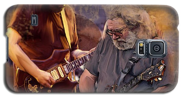 Dream Colors  Jerry Garcia Greatful Dead Galaxy S5 Case by Iconic Images Art Gallery David Pucciarelli