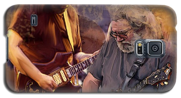 Dream Colors  Jerry Garcia Greatful Dead Galaxy S5 Case