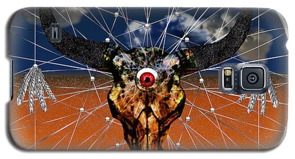 Galaxy S5 Case featuring the digital art Dream Guardian by Iowan Stone-Flowers