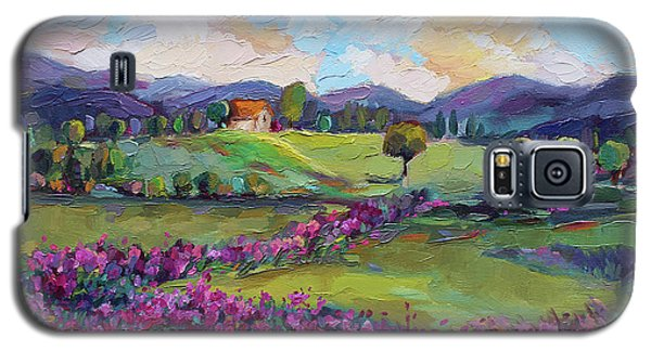 Galaxy S5 Case featuring the painting Dream In Color by Jennifer Beaudet
