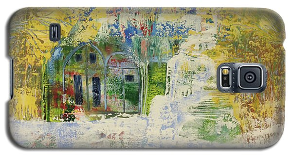 Galaxy S5 Case featuring the painting Dream Of Dreams. by Sima Amid Wewetzer