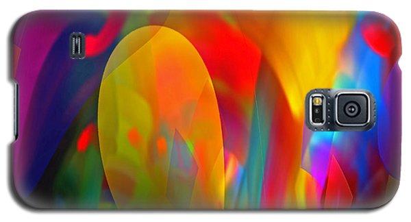 Galaxy S5 Case featuring the digital art Dream Of Red by Lynda Lehmann