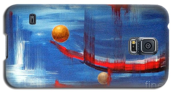 Galaxy S5 Case featuring the painting Dream Ship by Arturas Slapsys