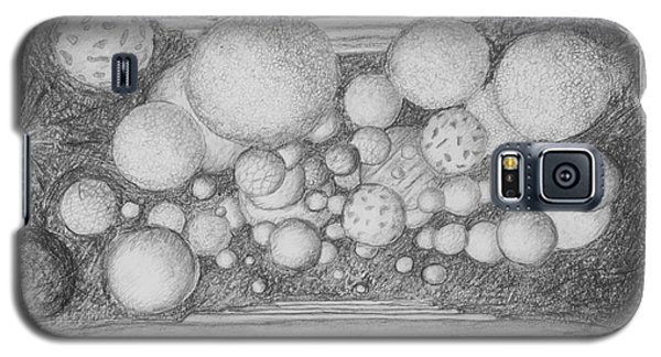 Galaxy S5 Case featuring the drawing Dream Spirits by Charles Bates
